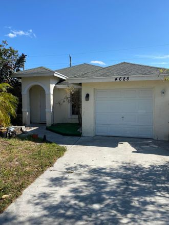 Rent this 3 bed house on Todd St in Lake Worth, FL