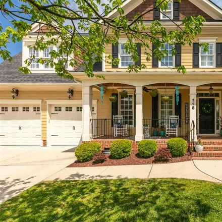 Rent this 4 bed house on 115 Bancroft Brook Dr in Cary, NC