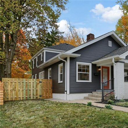 Rent this 4 bed house on 4133 Ruckle Street in Indianapolis, IN 46205