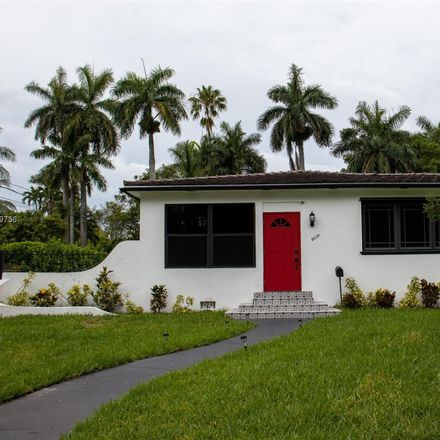 Rent this 3 bed house on 8630 Northeast 1st Avenue in El Portal, FL 33138