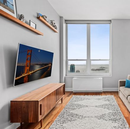 Rent this 1 bed apartment on Morgan St in Jersey City, NJ