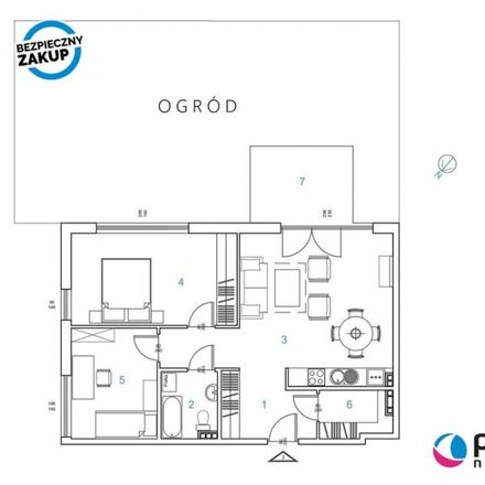 Rent this 3 bed apartment on Płocka in 81-502 Gdynia, Poland