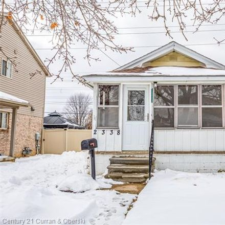 Rent this 2 bed house on 2338 9th Street in Wyandotte, MI 48192