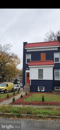 Rent this 4 bed townhouse on 2926 Violet Avenue in Baltimore, MD 21215