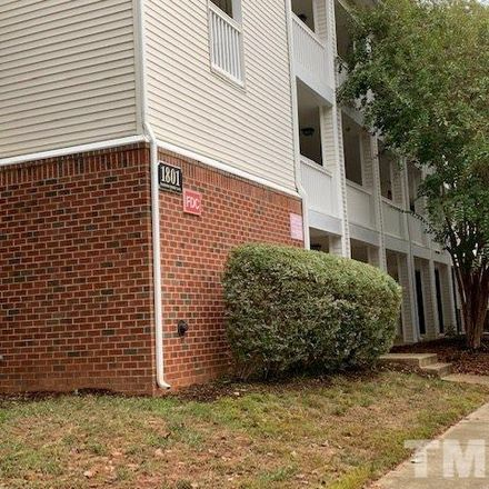 Rent this 2 bed condo on 1801 Trailwood Heights Lane in Raleigh, NC 27603