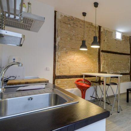 Rent this 1 bed apartment on Real Academia de Ciencias Exactas in Físicas y Naturales, Calle de Valverde