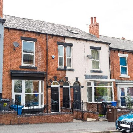 Rent this 4 bed house on Alderson Place in Sheffield, S2 4UB