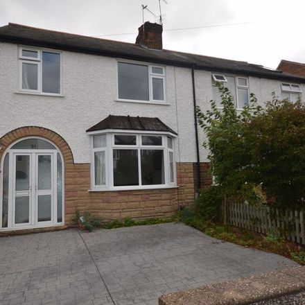 Rent this 3 bed house on Cambridge Road in Nottinghamshire NG2 6FQ, United Kingdom