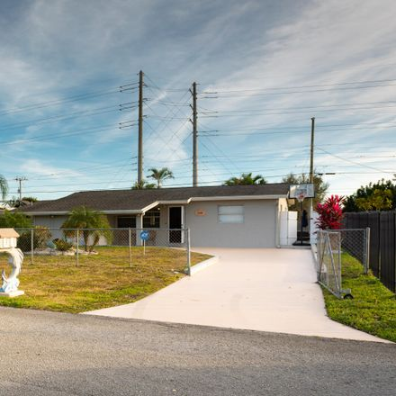 Rent this 3 bed house on 2390 West Lakewood Road in Palm Beach County, FL 33406