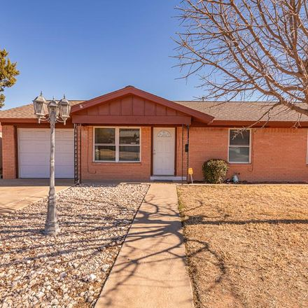 Rent this 3 bed house on 4228 Redbud Avenue in Odessa, TX 79762