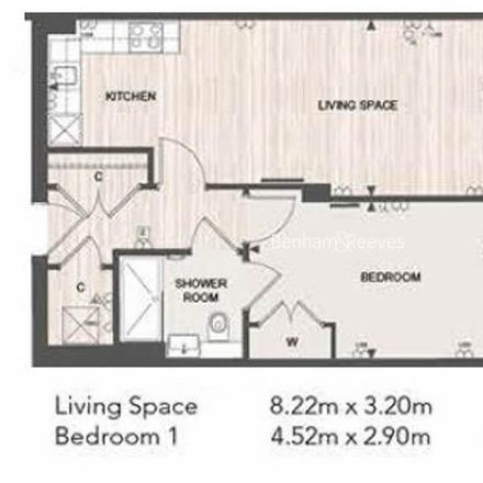 Rent this 1 bed apartment on Springfield Gardens in London NW9 0RS, United Kingdom