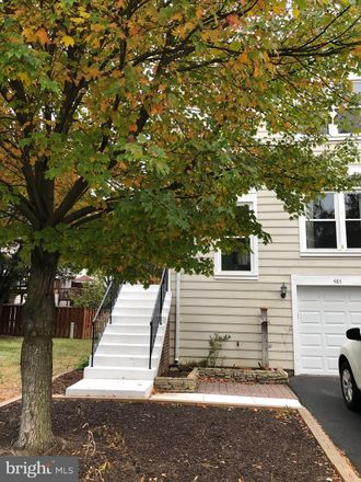 Rent this 3 bed townhouse on 485 Virginia Avenue in Herndon, VA 20170