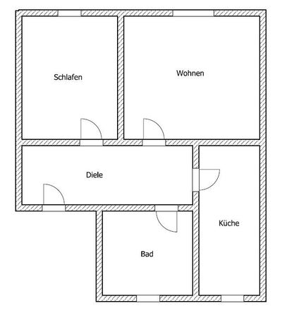 Rent this 2 bed apartment on Goethestraße 50 in 01589 Riesa, Germany