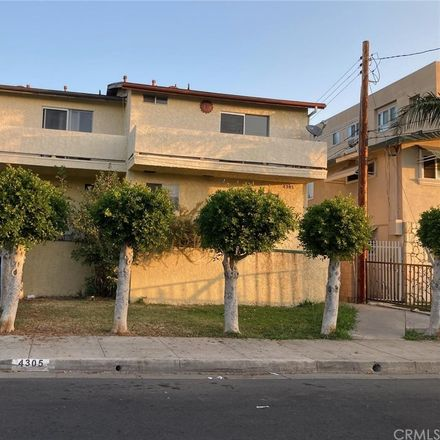 Rent this 2 bed condo on 4305 Walnut Street in Cudahy, CA 90201