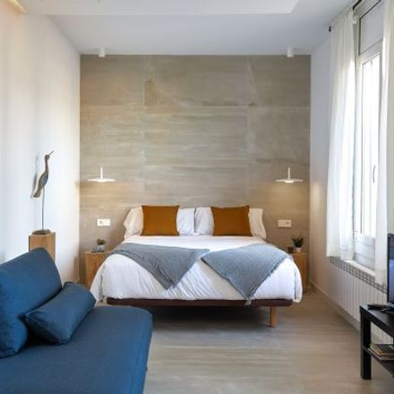 Rent this 1 bed apartment on Bar Bocatini in Gran Via de les Corts Catalanes, 610