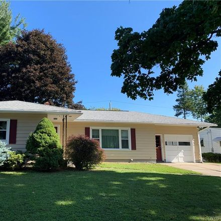 Rent this 3 bed house on 131 Kensington Drive in City of Utica, NY 13501