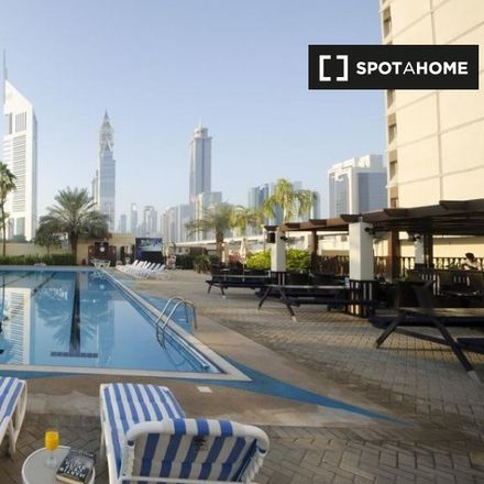 Rent this 1 bed apartment on Dubai World Trade Centre in 2nd Zaa'beel Street, Zabeel