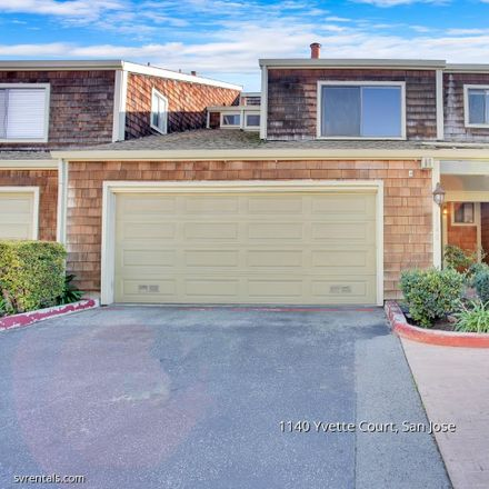 Rent this 3 bed townhouse on 1140 Yvette Court in San Jose, CA 95118