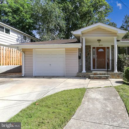 Rent this 5 bed house on 816 Hillsboro Dr in Silver Spring, MD