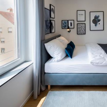 Rent this 1 bed apartment on Am Katzenstadel 10 in 86152 Augsburg, Germany