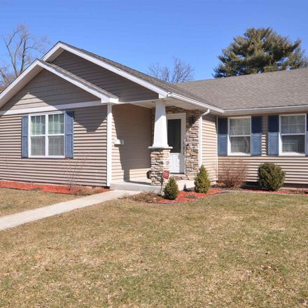 Rent this 3 bed house on 110 North Hawthorne Drive in South Bend, IN 46617