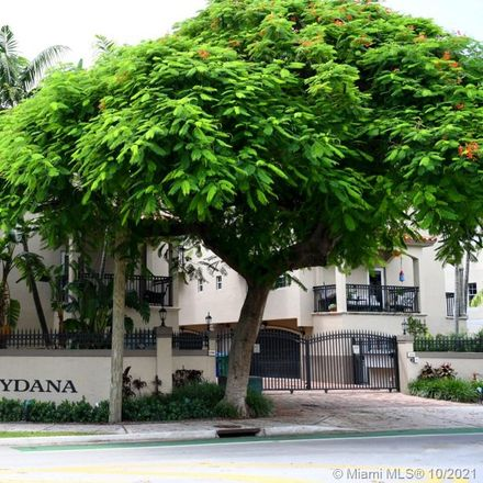 Rent this 2 bed townhouse on 3310 Bird Avenue in South Bay Estates, Miami