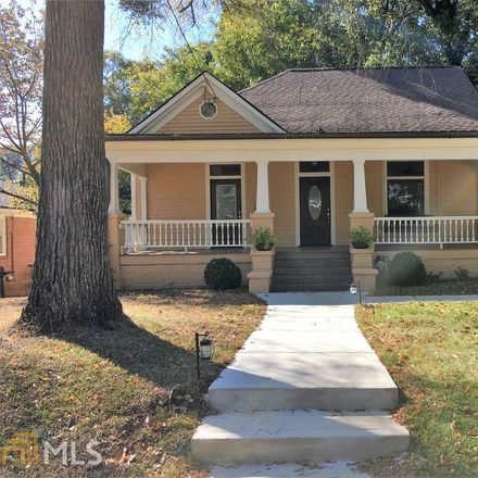 Rent this 1 bed duplex on Murray Hill Ave NE in Atlanta, GA