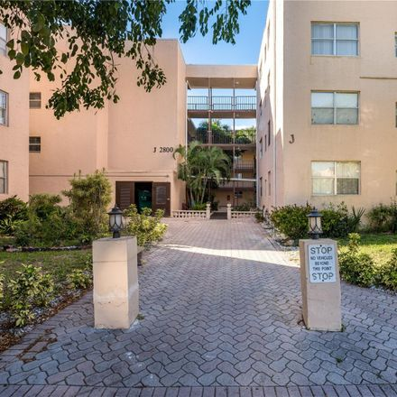 Rent this 1 bed condo on 2800 Somerset Drive in Golf Estates, FL 33311