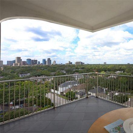Rent this 2 bed condo on 3711 San Felipe Street in Houston, TX 77027