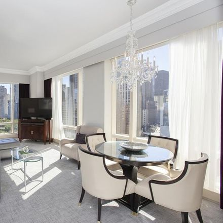 Rent this 2 bed condo on Trump International Hotel and Tower in 1 Central Park West, New York