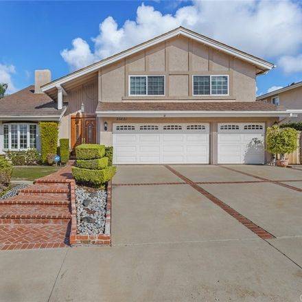 Rent this 4 bed house on 25621 Maximus Street in Mission Viejo, CA 92691