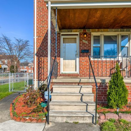 Rent this 3 bed townhouse on 3500 East Northern Parkway in Baltimore, MD 21206