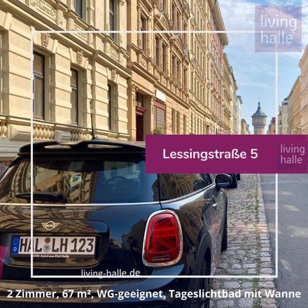 Rent this 2 bed apartment on Halle (Saale) in Paulusviertel, SAXONY-ANHALT