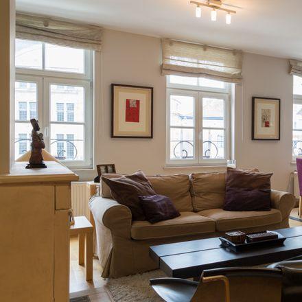 Rent this 1 bed apartment on Place du Grand Sablon - Grote Zavel 5 in 1000 Ville de Bruxelles - Stad Brussel, Belgium