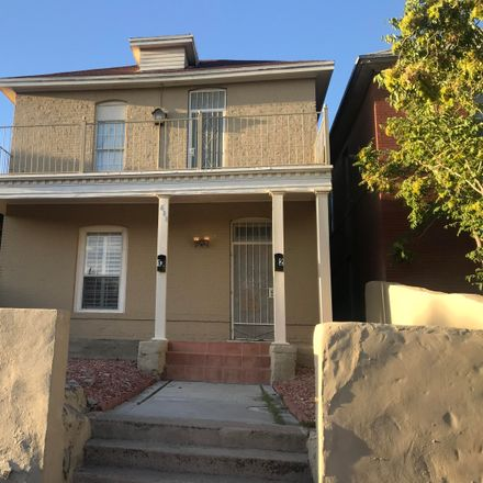 Rent this 1 bed apartment on 617 Prospect Street in El Paso, TX 79902