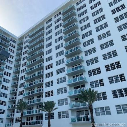 Rent this 1 bed condo on The Collins in 6917 Collins Avenue, Miami Beach