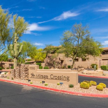 Rent this 3 bed townhouse on 11500 East Cochise Drive in Scottsdale, AZ 85259