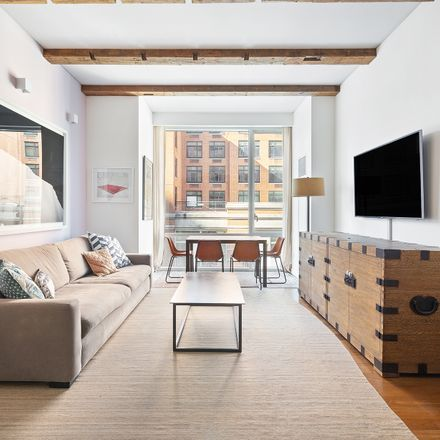 Rent this 2 bed condo on Osswald Parfumerie & Luxury Skincare Boutique in 311 West Broadway, New York