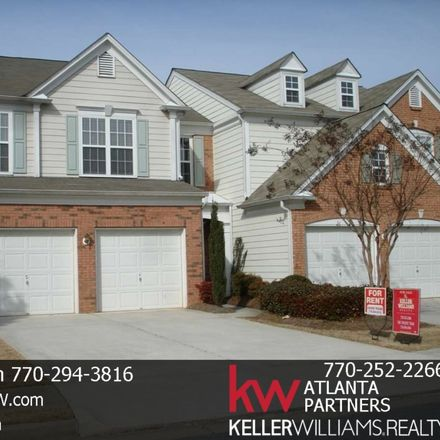 Rent this 3 bed townhouse on Gainesway Ct in Cumming, GA