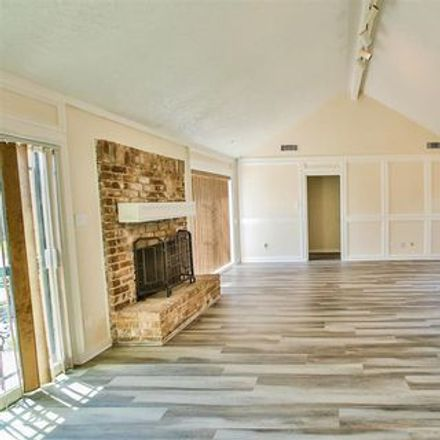 Rent this 3 bed apartment on A A Milne Elementary School in Portal Drive, Houston