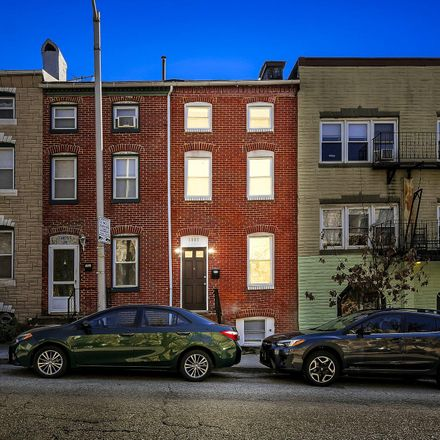 Rent this 2 bed townhouse on 1807 East Lombard Street in Baltimore, MD 21231