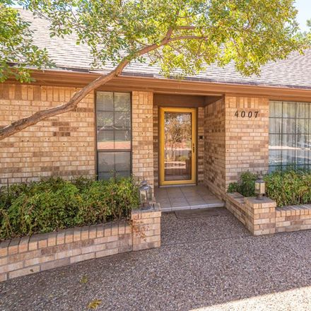 Rent this 4 bed house on 4007 Crestridge Drive in Midland, TX 79707