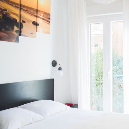 Rent this 0 bed apartment on Paseo del Marqués de Zafra in 19, 28028 Madrid