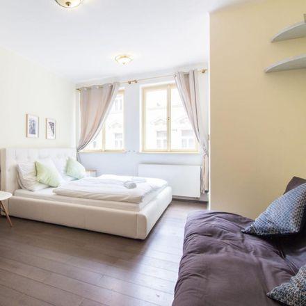 Rent this 1 bed apartment on McDonald's in Mostecká 21, 118 00 Prague