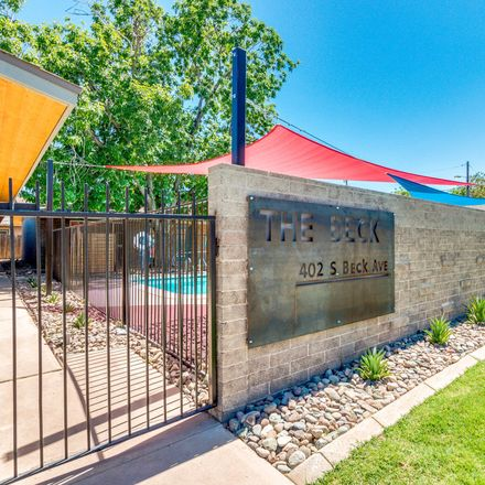 Rent this 1 bed apartment on 402 South Beck Avenue in Tempe, AZ 85281