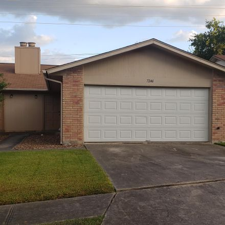 Rent this 3 bed duplex on 7288 Rimwood Street in Live Oak, TX 78233