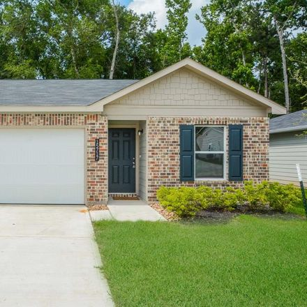 Rent this 3 bed house on Deleon Trail Dr in Spring, TX