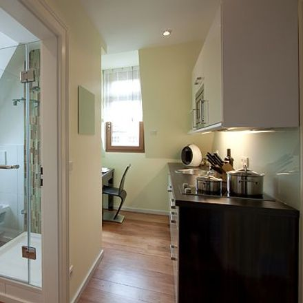 Rent this 1 bed apartment on Ludwigsburger Straße 117 in 70435 Stuttgart, Germany