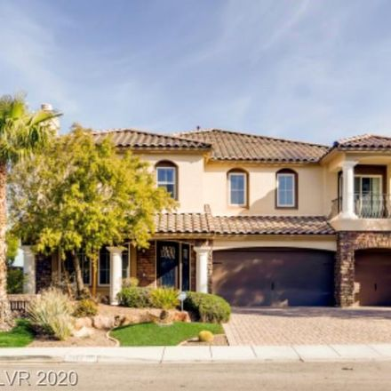 Rent this 5 bed loft on Deerfield Ranch Court in Enterprise, NV 89113