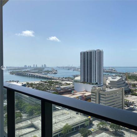 Rent this 2 bed condo on 1600 Northeast 1st Avenue in Miami, FL 33132